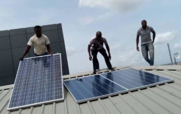Installation of a 3kw Solar Hybrid Home System in Iyana Ipaja, Lagos – Nigeria