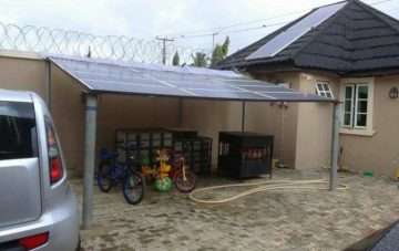 Construction of a 5KVA Hybrid Solar System in Lagos, Nigeria – For Brianok Engineering, Ojodu, Lagos