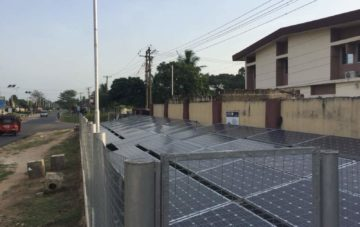 Installation of a 10kw Group Solar Streetlight in Akwa-Ibom – Nigeria